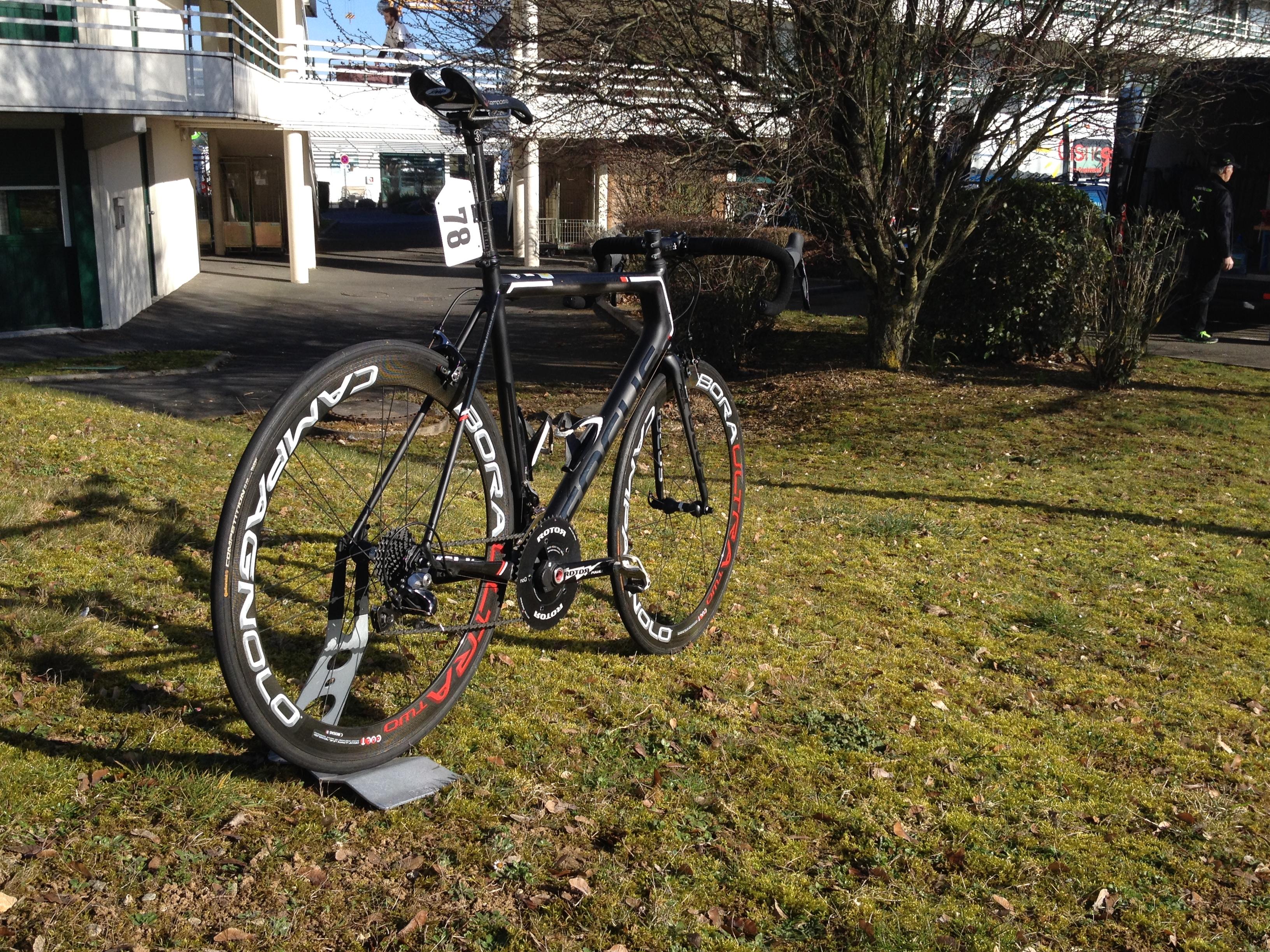 le vélo de Jacques avec son dualpower