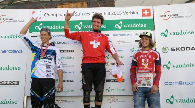 Maxime Chapuis Champion Suisse de DH